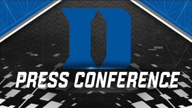 Duke Weekly Football Press Conference