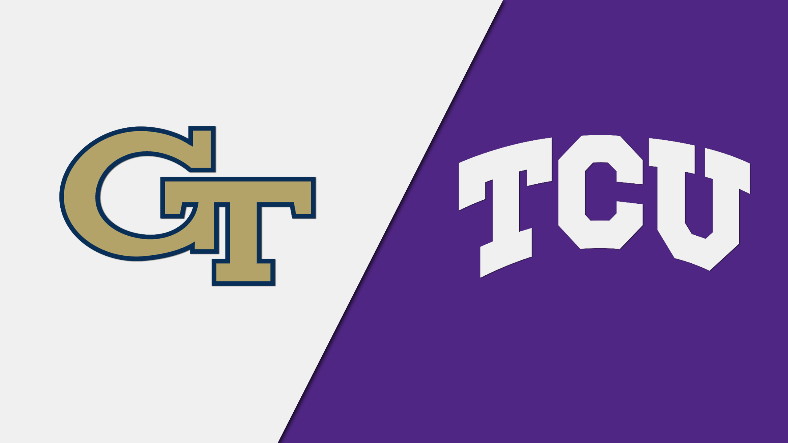 #6 Georgia Tech vs. #4 TCU (Championship) (re-air)