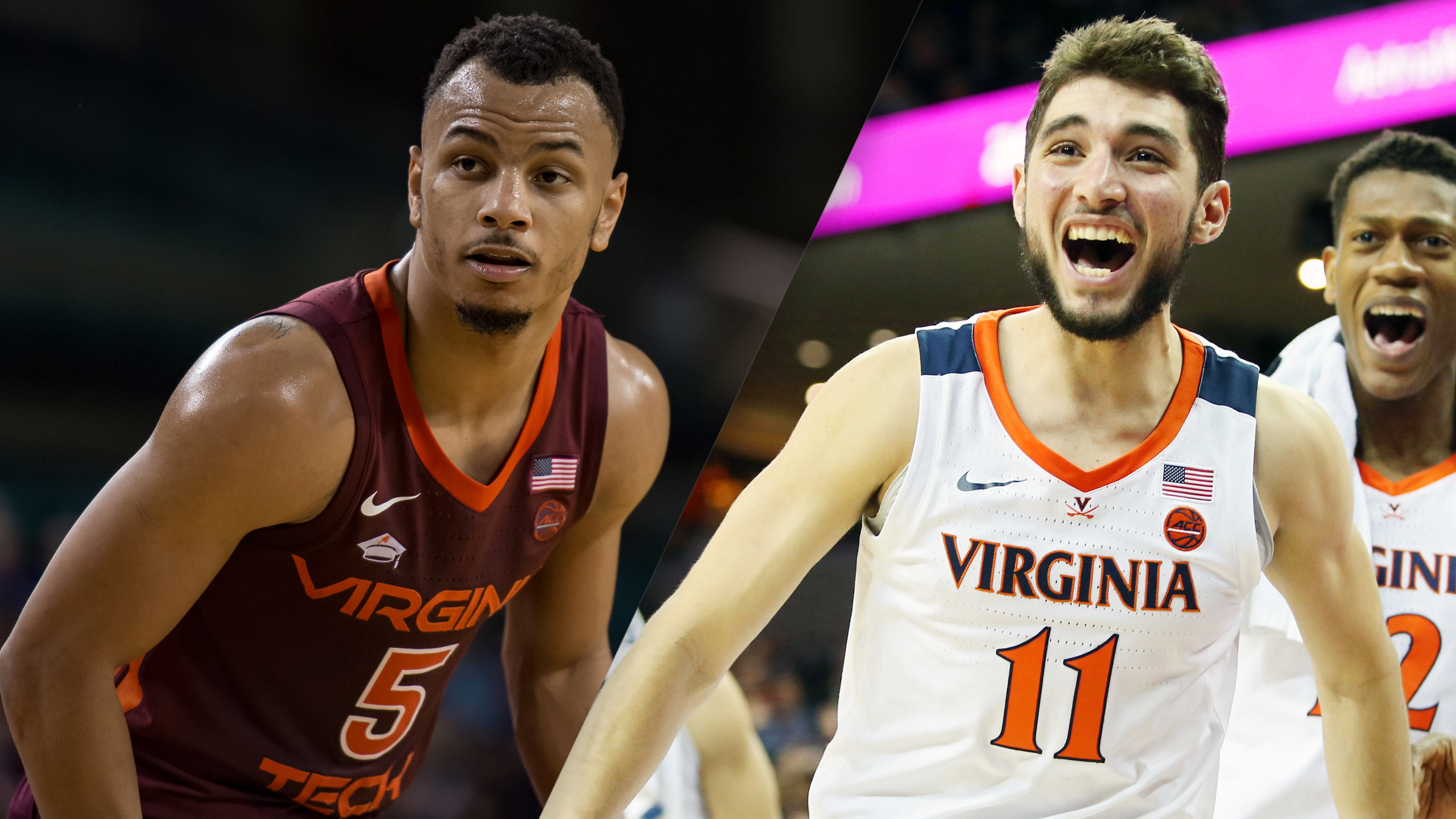 #9 Virginia Tech vs. #4 Virginia (M Basketball)