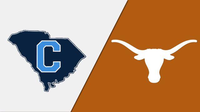 The Citadel vs. Texas