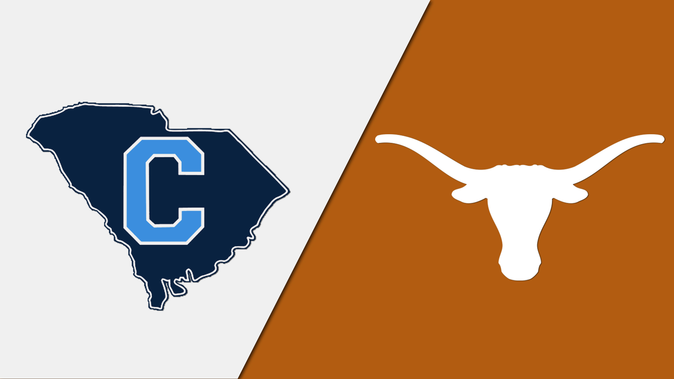 The Citadel vs. Texas (re-air)