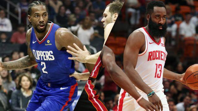 LA Clippers vs. Houston Rockets
