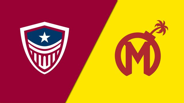 Washington Justice vs. Florida Mayhem