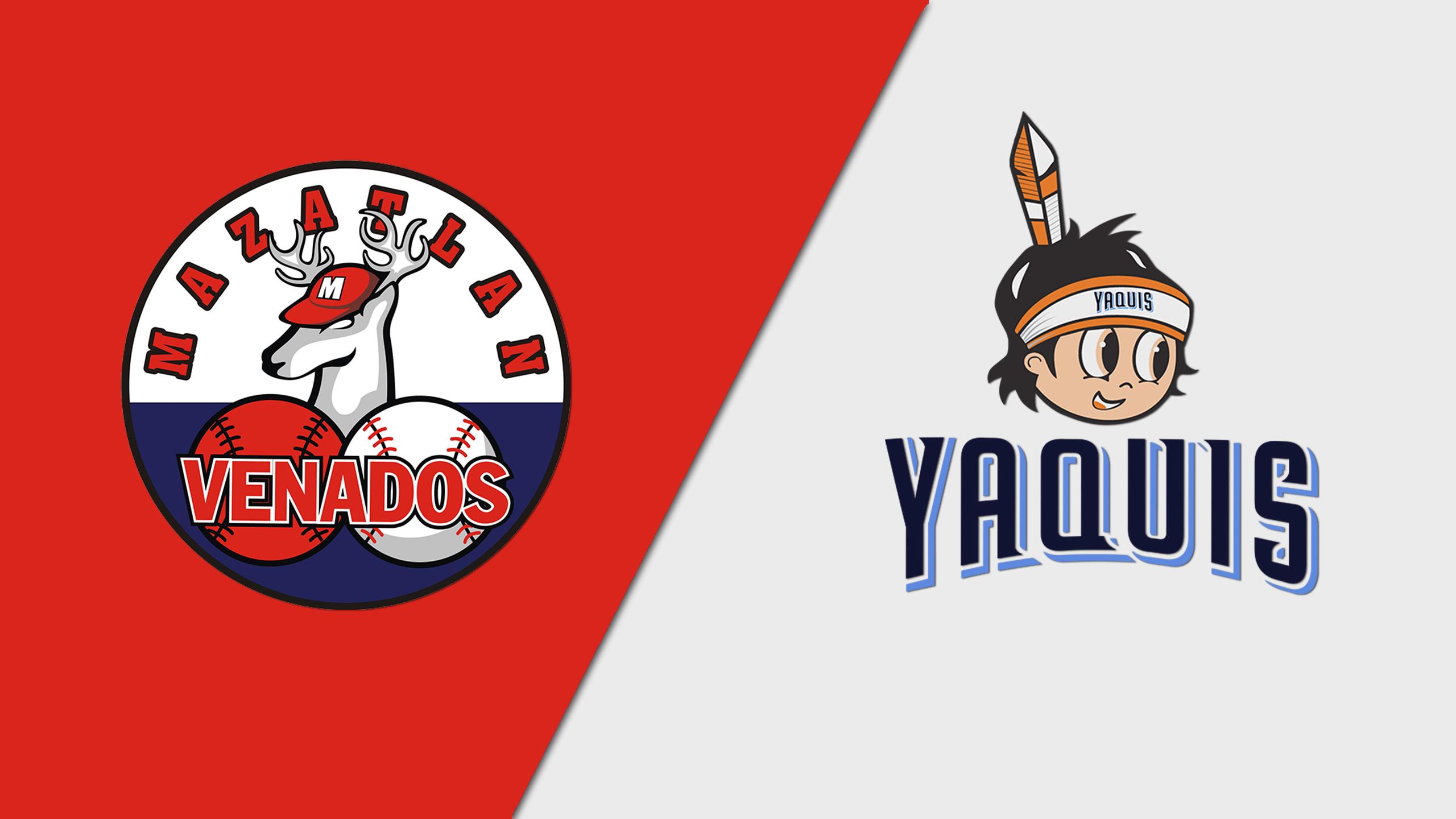 In Spanish - Venados de Mazatlán vs. Yaquis de Obregón