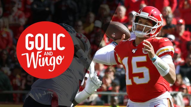 Thu, 10/17 - Golic and Wingo Presented by Progressive