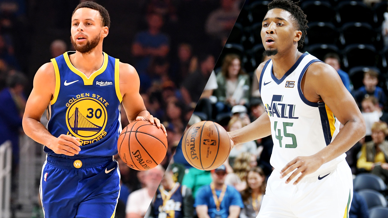 Golden State Warriors vs. Utah Jazz (re-air)