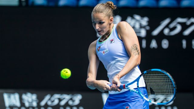 (2) Ka. Pliskova vs. Siegemund (Women's Second Round)