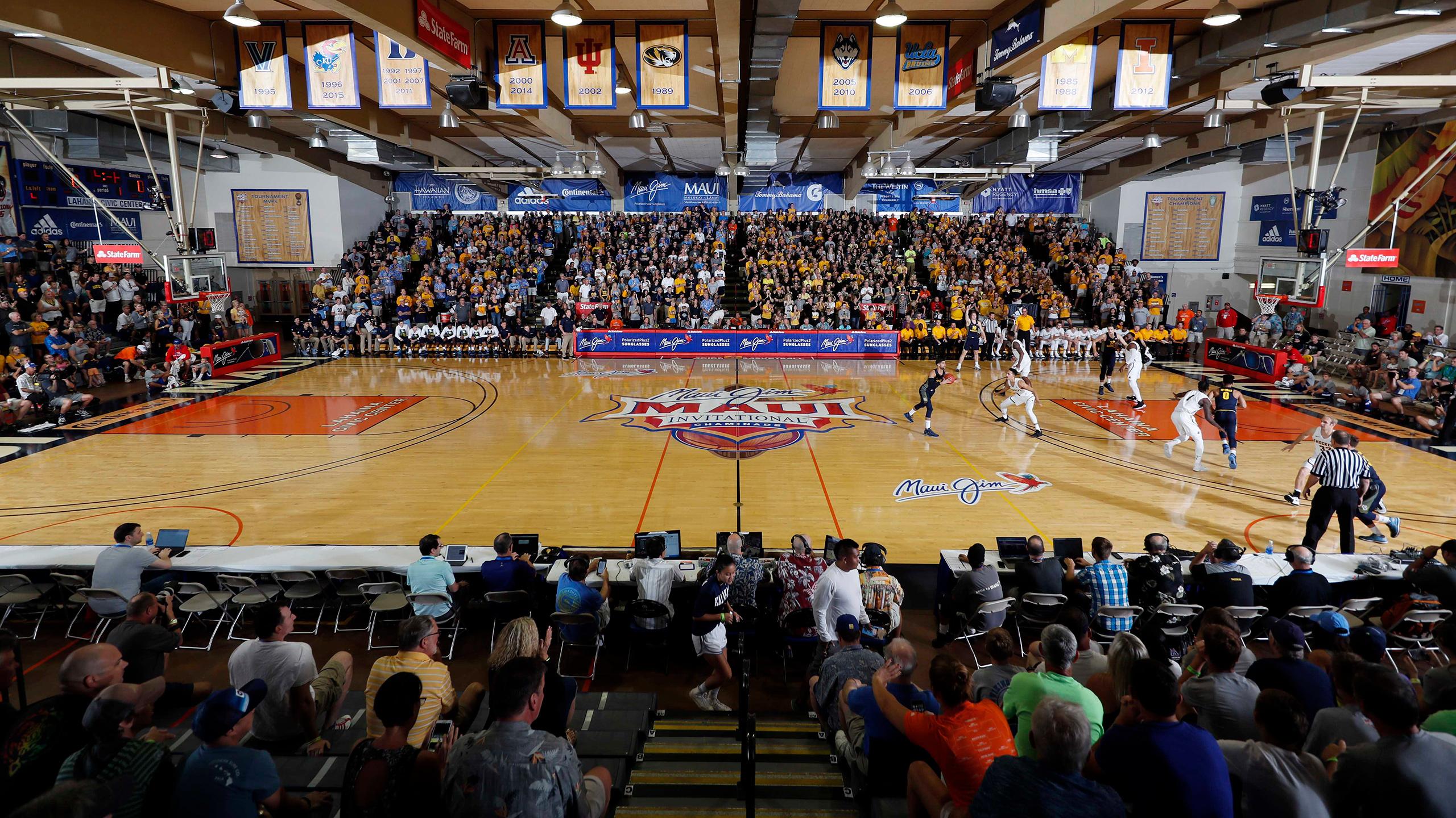 ESPN3 College Basketball Surround - Above The Rim Cameras (Consolation Round)