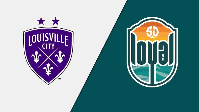 Louisville City FC vs. San Diego Loyal SC