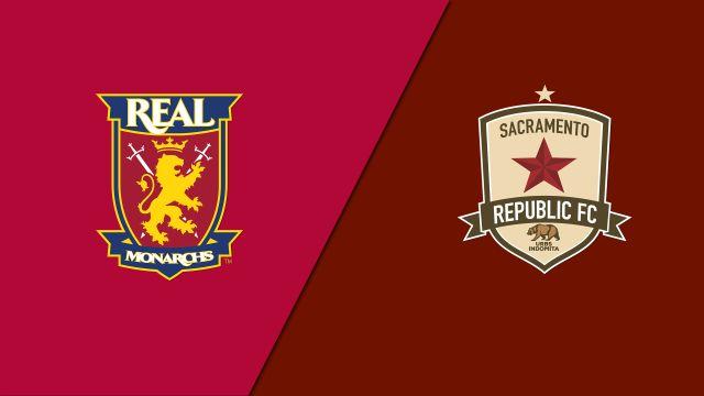 Real Monarchs SLC vs. Sacramento Republic FC (USL Championship)