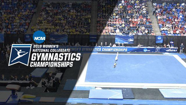 NCAA Women's Gymnastics Championships (Floor, Semifinal #1) (W Gymnastics)