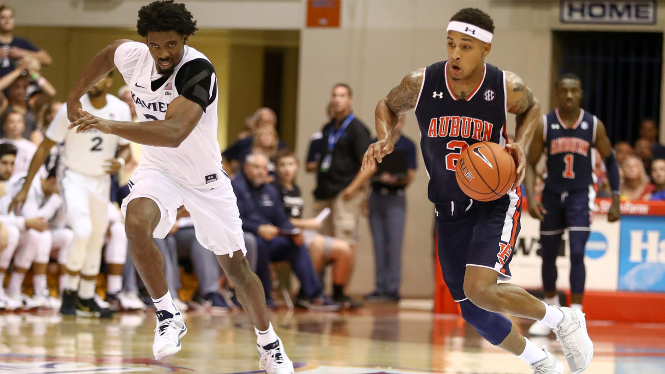 #8 Auburn vs. Xavier (Quarterfinal #1) (Maui Jim Maui Invitational)