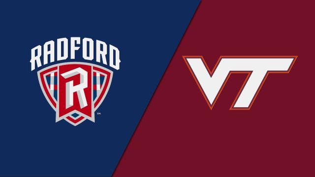 Radford vs. Virginia Tech (W Lacrosse)