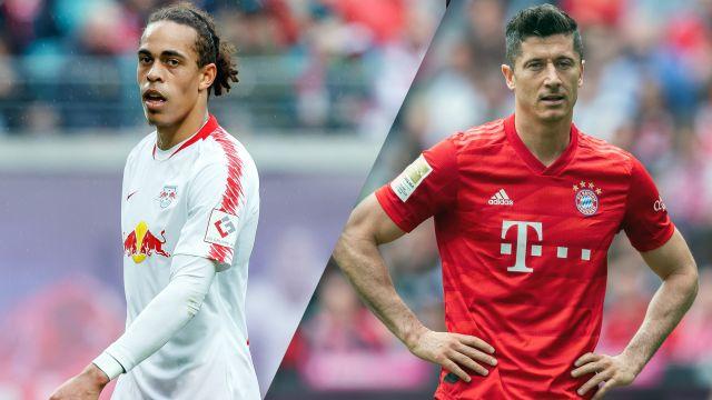 In Spanish-RB Leipzig vs. Bayern Munich (Final) (German Cup)