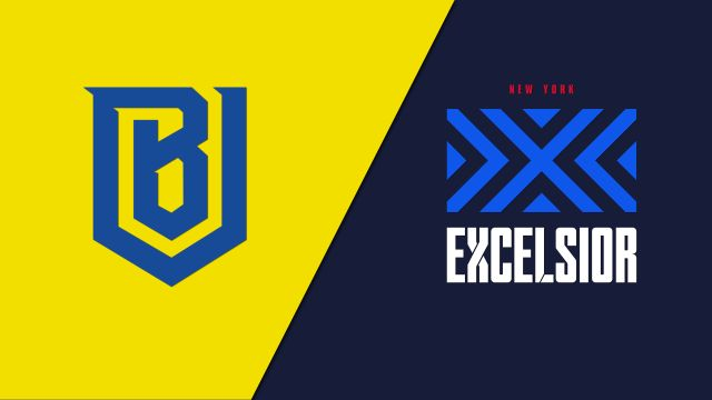 Boston Uprising vs. New York Excelsior (Esports)
