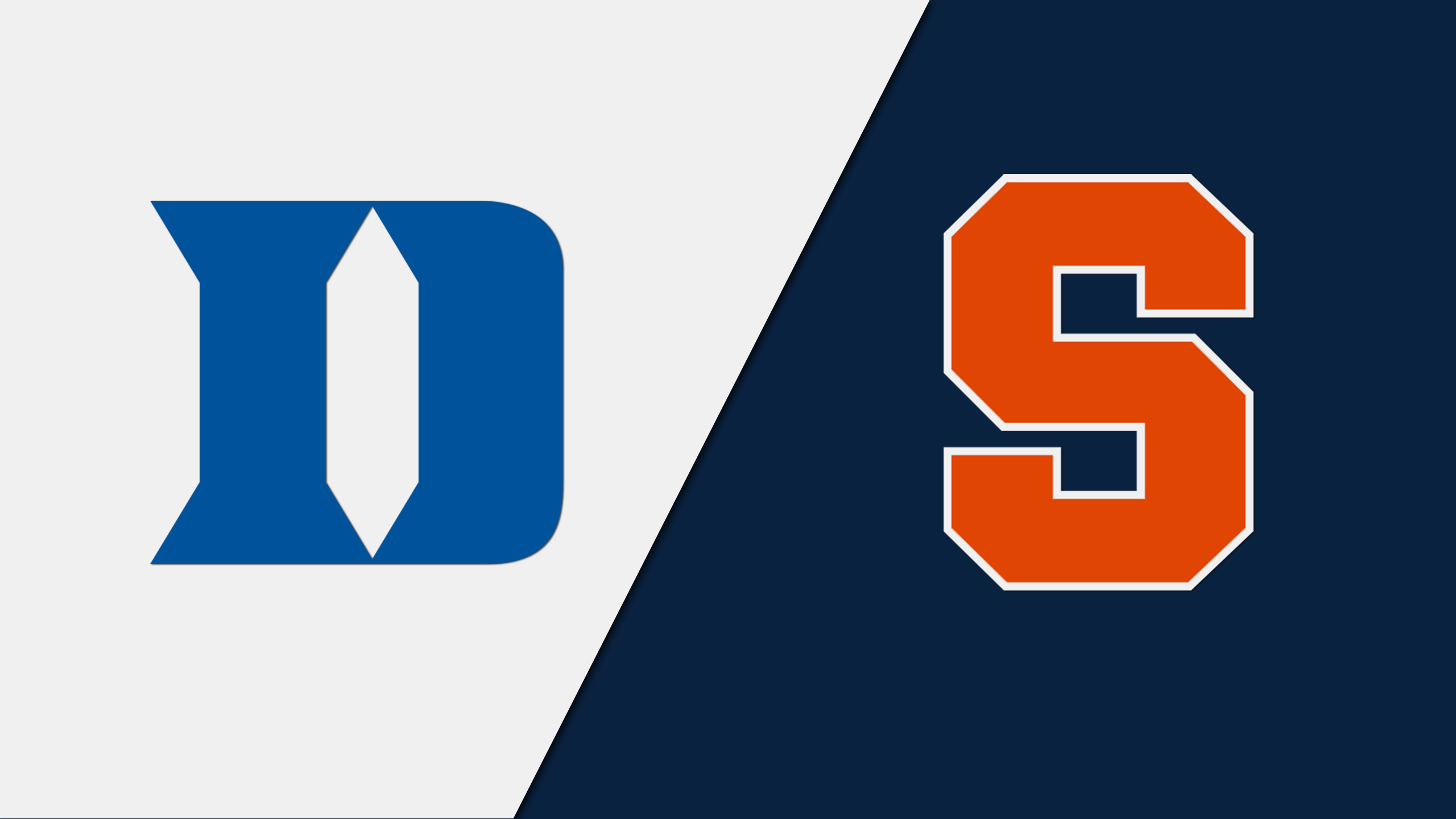#17 Duke vs. #2 Syracuse - 2/01/2014 (re-air)