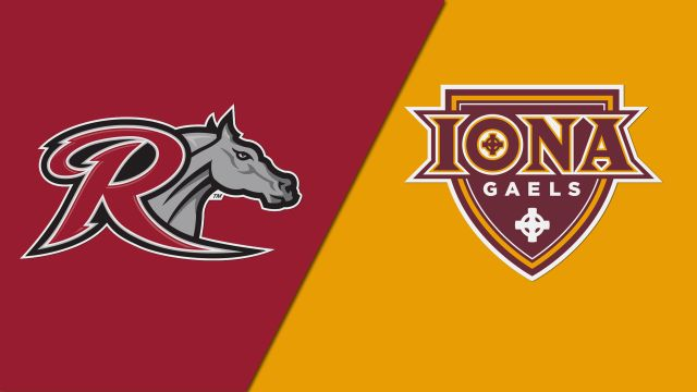Rider vs. Iona (M Basketball)