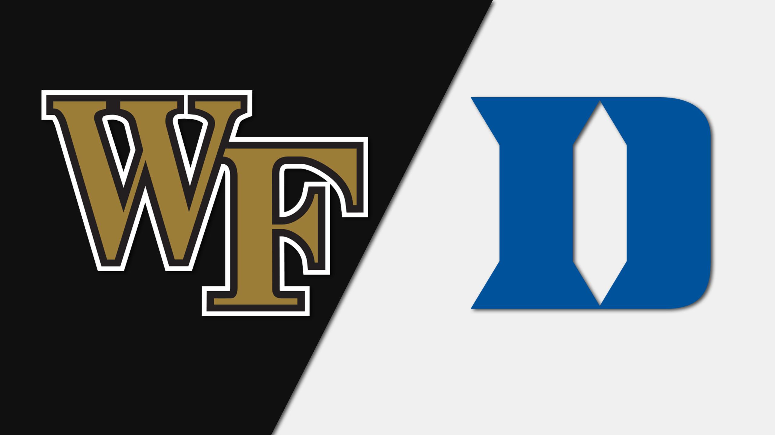 Wake Forest vs. #17 Duke (W Soccer)