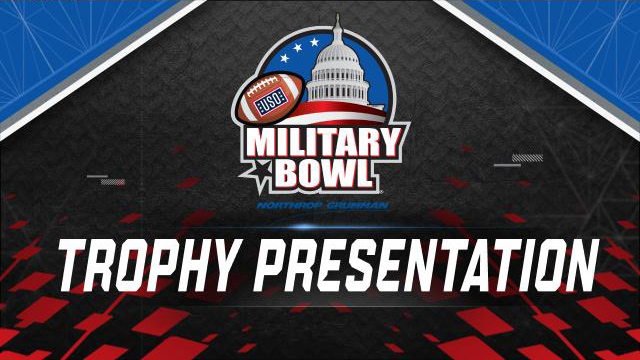 Military Bowl Presented by Northrop Grumman Trophy Ceremony Presented by Capital One (Bowl Game)