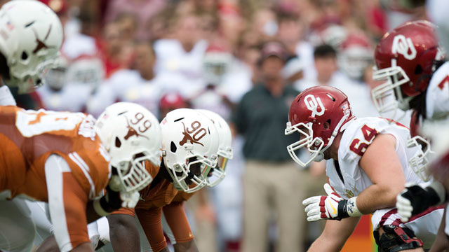 #12 Oklahoma vs. Texas - 10/12/2013 (re-air)