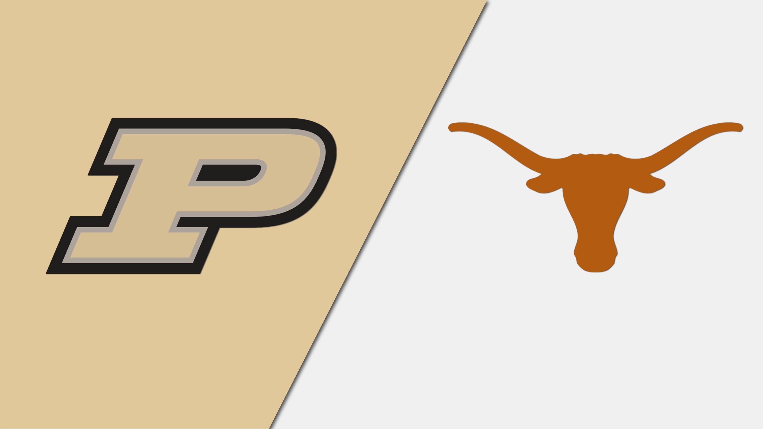 Purdue vs. #16 Texas (Baseball) (re-air)