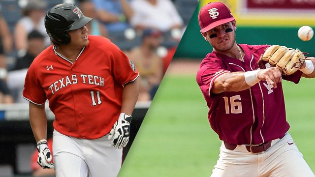 #8 Texas Tech vs. Florida State (Game 9) (College World Series)