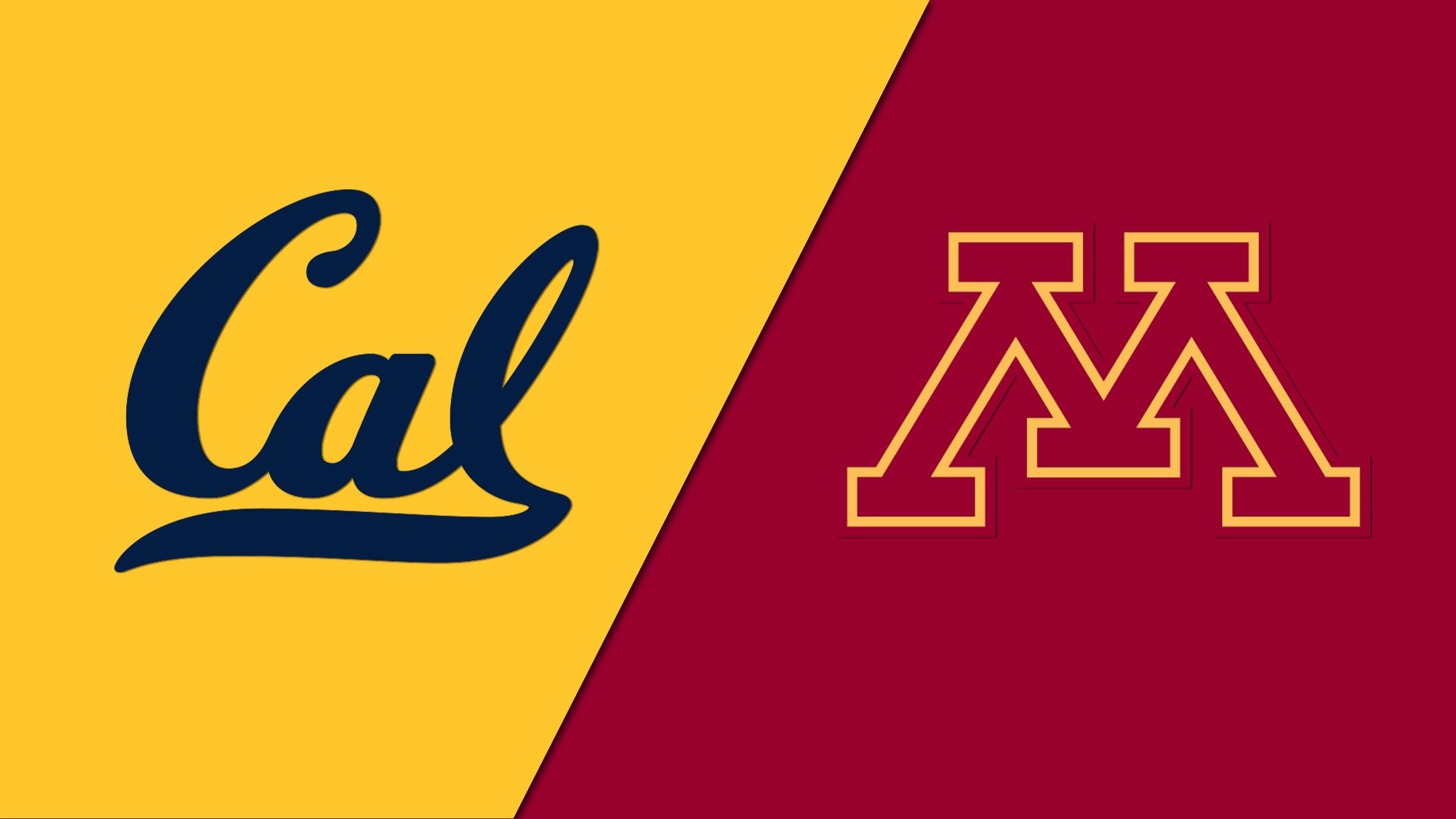 California vs. Minnesota (Softball)