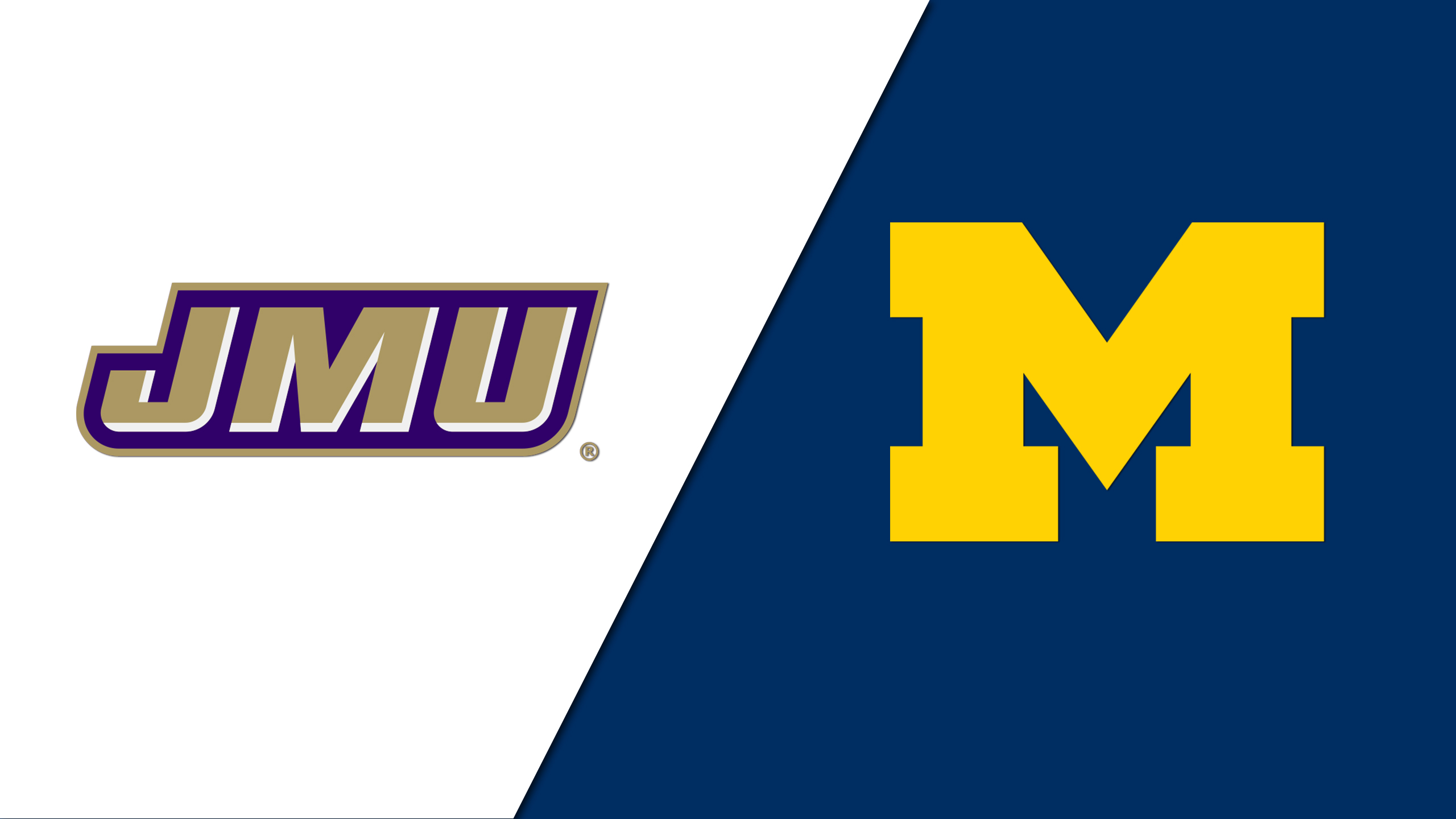 James Madison vs. Michigan (Site 7 / Game 3) (re-air)
