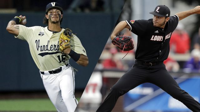 Vanderbilt vs. Louisville (Game 12) (College World Series)