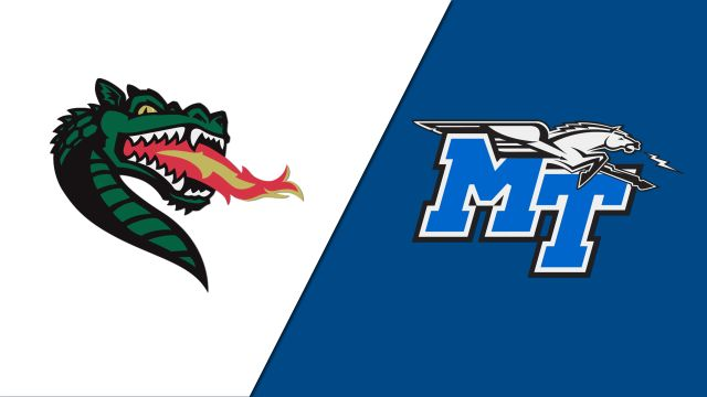 UAB vs. Middle Tennessee (W Basketball)