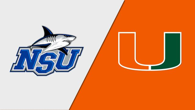 Nova Southeastern vs. Miami (W Basketball)