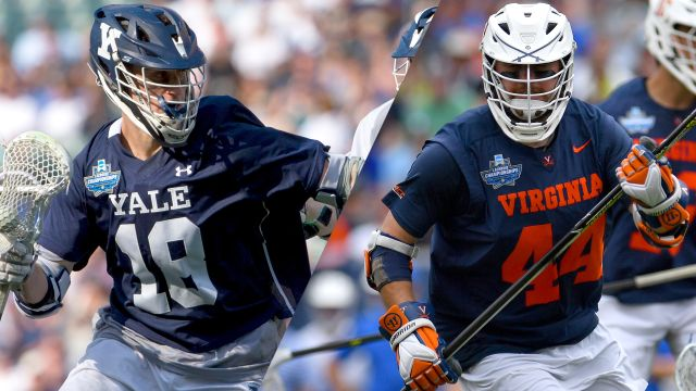 #5 Yale vs. #3 Virginia (Championship) (M Lacrosse)