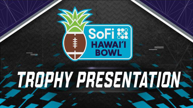 SoFi Hawai'i Bowl Trophy Ceremony (Bowl Game)