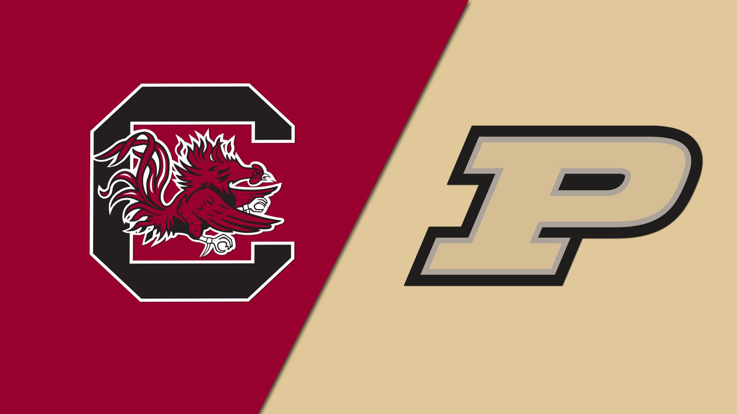 #25 South Carolina vs. Purdue (W Basketball) (re-air)