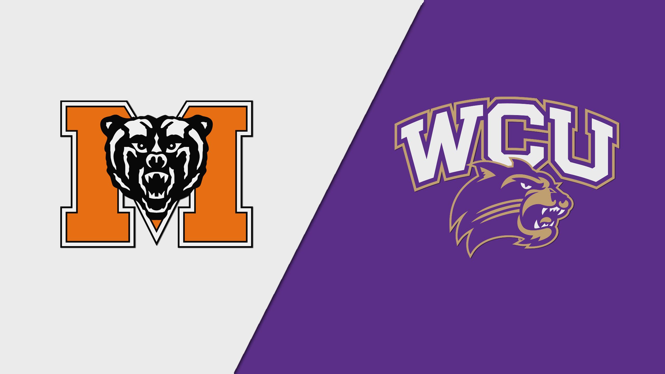 Mercer vs. Western Carolina (W Volleyball)