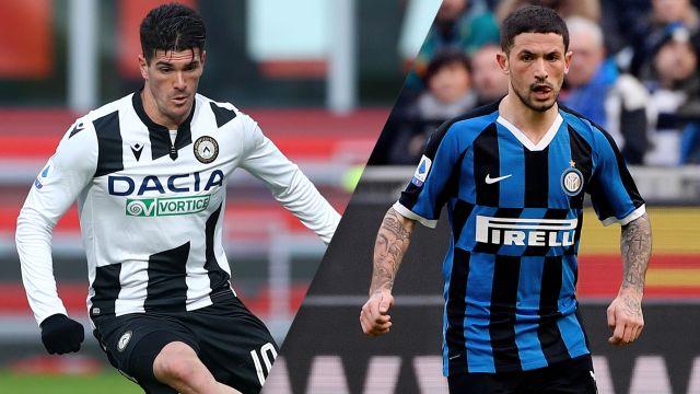 In Spanish-Udinese vs. Inter (Serie A)