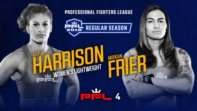 In Spanish - Professional Fighters League (PFL 4)