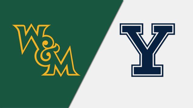 William & Mary vs. Yale (Court 1)