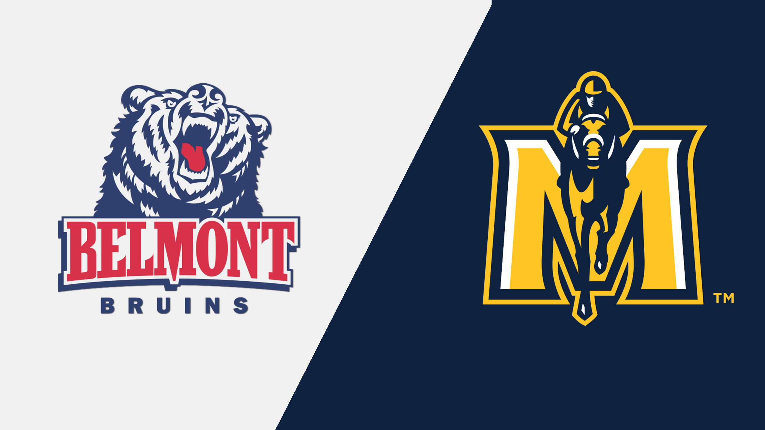 Belmont vs. Murray State (M Basketball) (re-air)