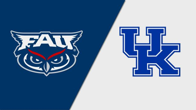 Florida Atlantic vs. #21 Kentucky (M Soccer)
