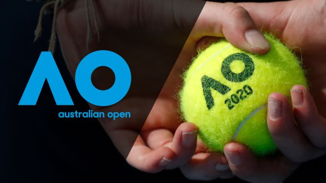 Wed, 1/22 - 2020 Australian Open: Coverage presented by SoFi (Second Round)