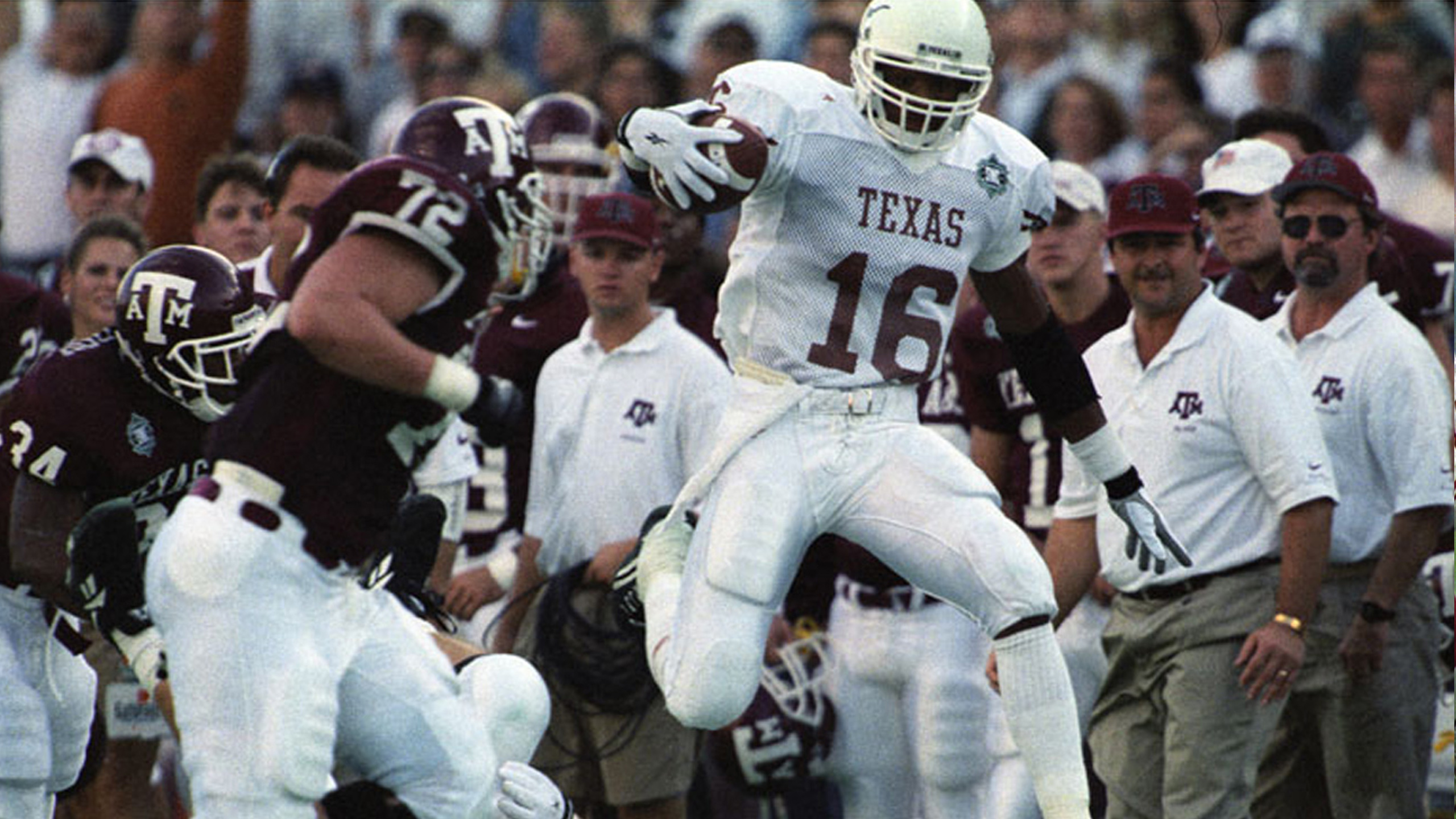 Texas Longhorns vs. Texas A&M Aggies - 12/2/1995 (re-air)