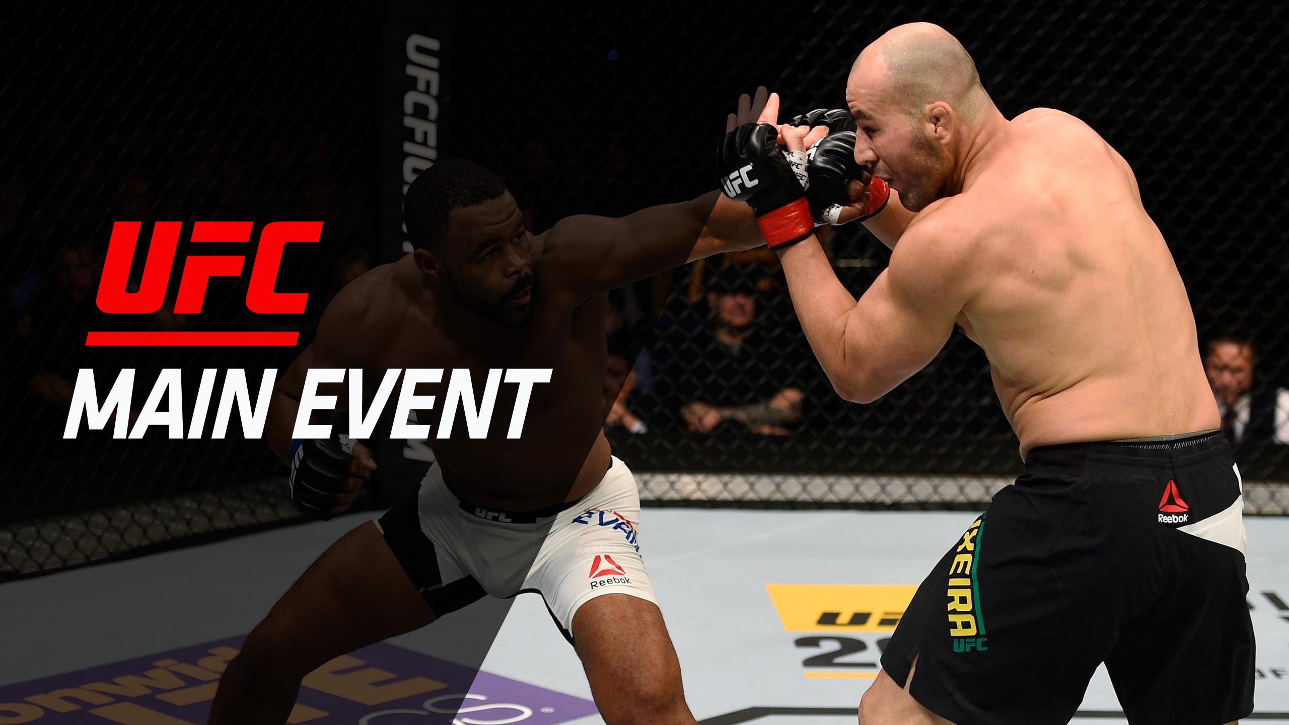 UFC Main Event: Teixeira vs. Evans / Namajunas vs. Torres