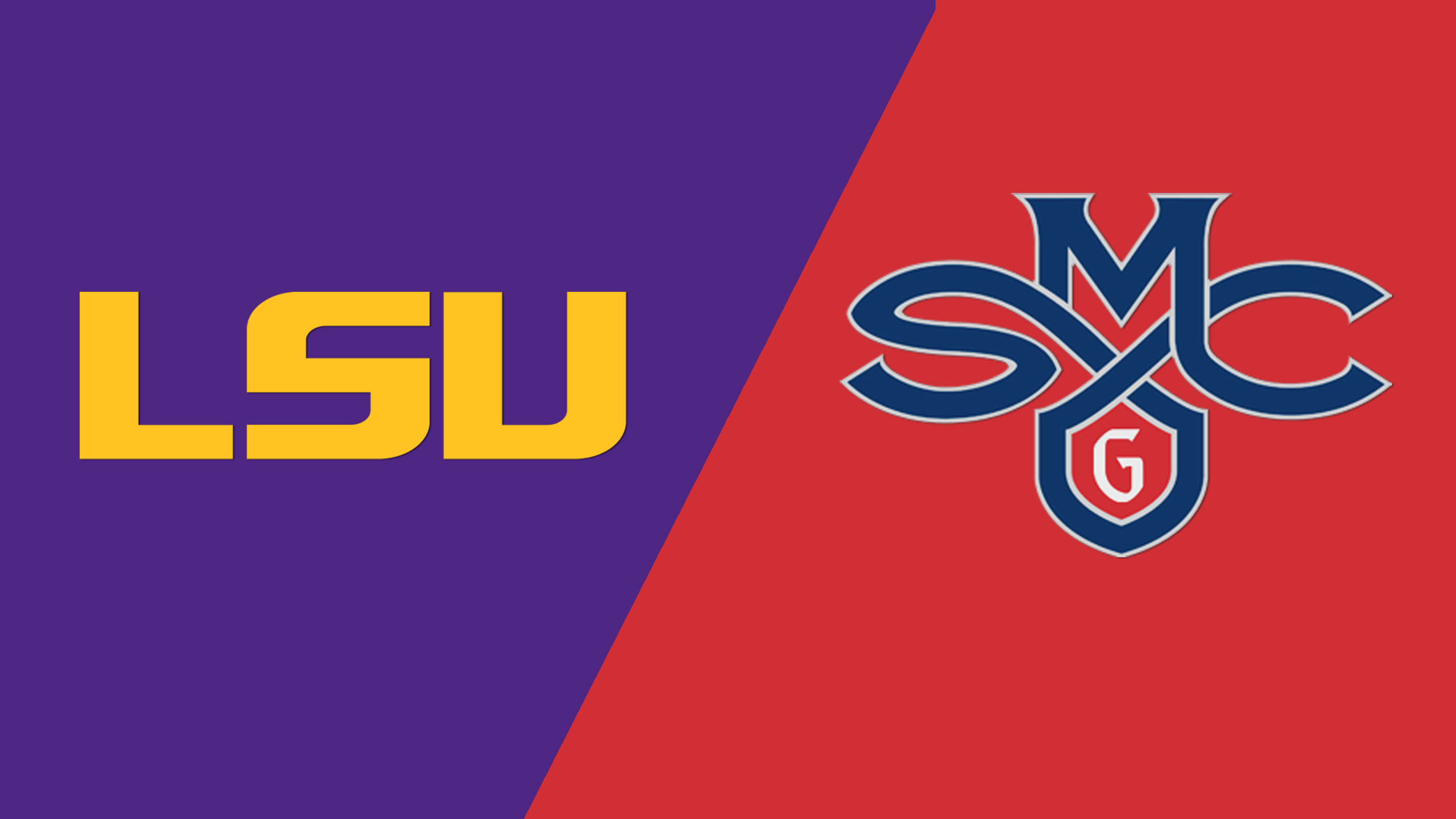 LSU vs. Saint Mary's (M Basketball) (re-air)