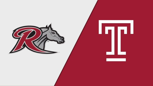 Rider vs. Temple (M Basketball)