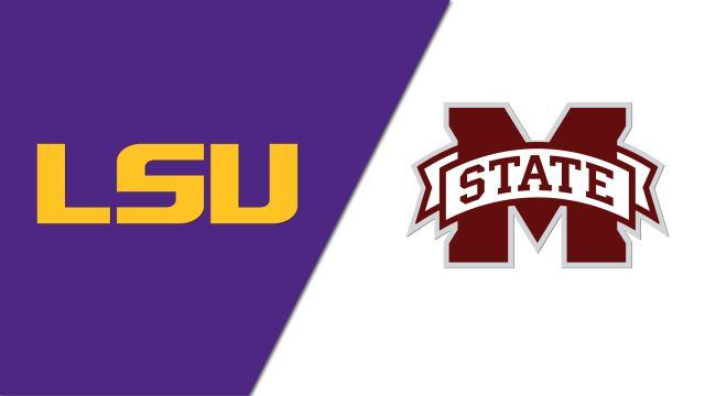 LSU Tigers vs. Mississippi State Bulldogs (ESPN Classic Football)