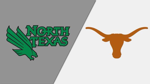 North Texas vs. #4 Texas (Softball)