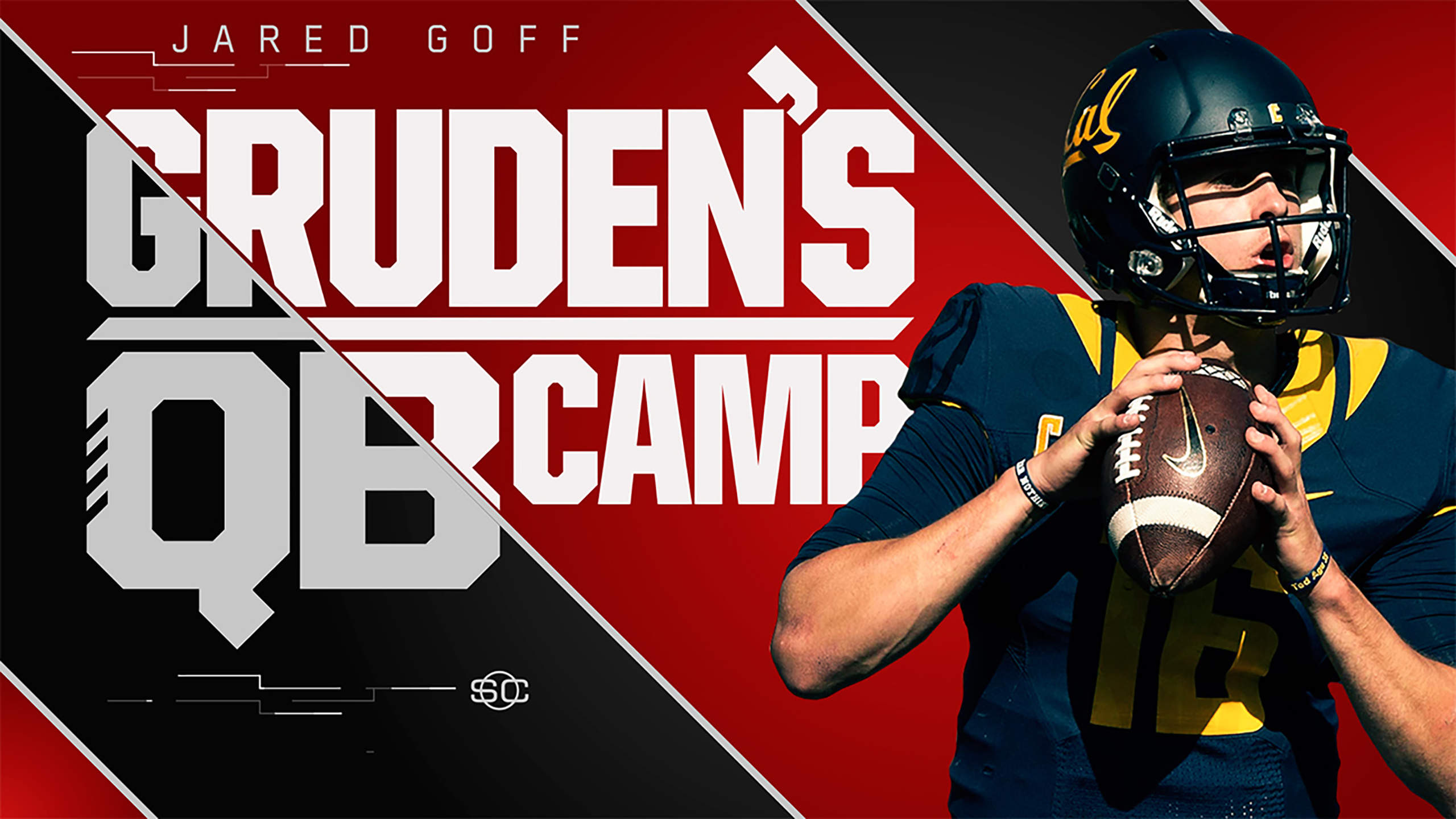 SportsCenter Special Presented by Stouffer's: Gruden's QB Camp - Jared Goff