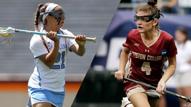 #3 North Carolina vs. #2 Boston College (Semifinal #1)  (NCAA Women's Lacrosse Championship)
