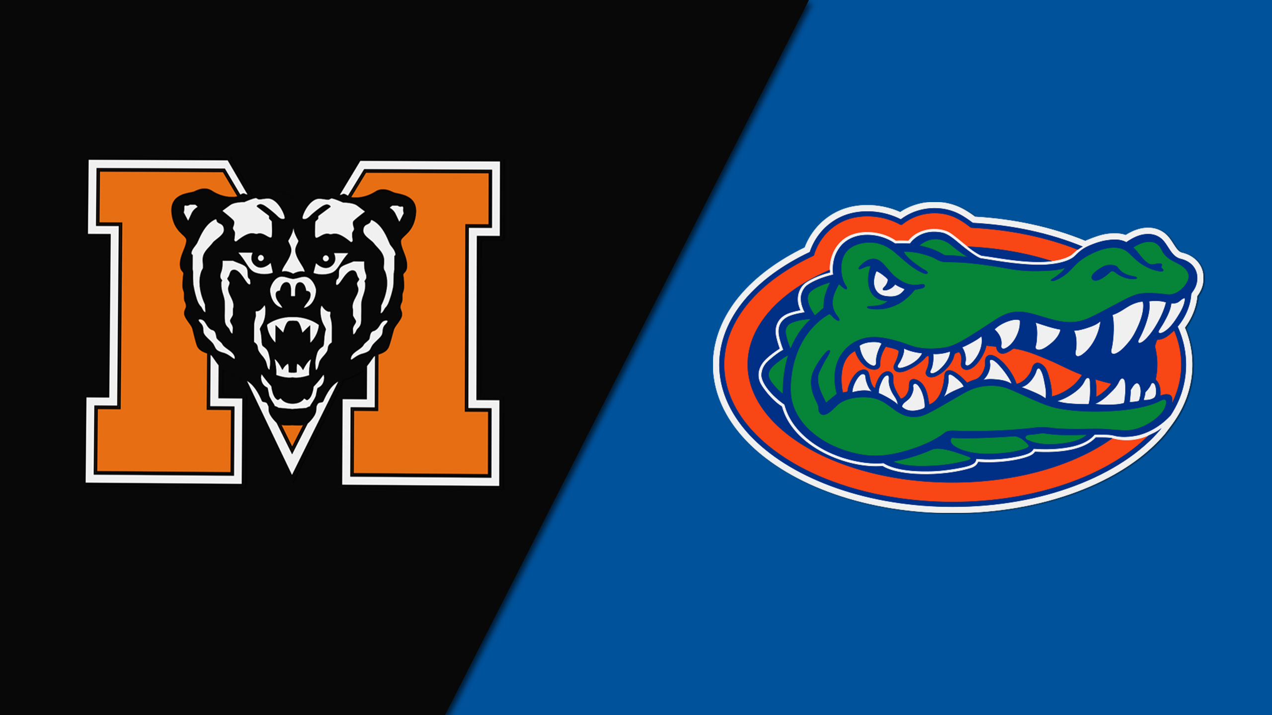 Mercer vs. Florida (M Basketball) (re-air)